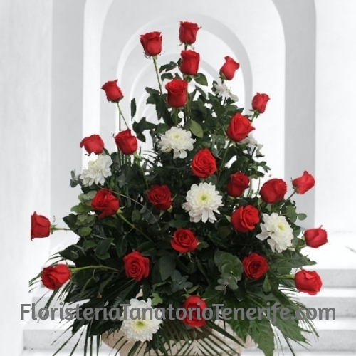 Composición Floral Fúnebre