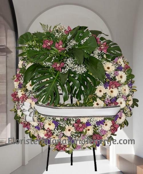 Enviar Corona Funeraria Canarias